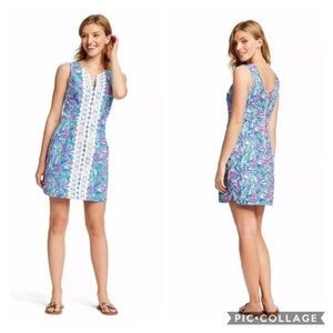 Lilly Pulitzer Dresses - Lilly Pulitzer Sleeveless Split Shift Mini Dress